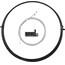 capgo OL Schaltset für Shimano/Sram ROAD & ATB/MTB Schwarz